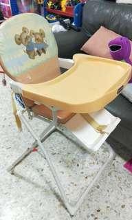 Baby highchair or baby feeding high chair
