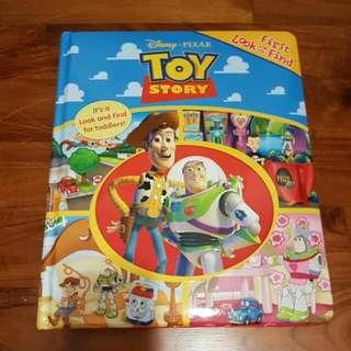 Toy Story First Look & Find Big Board Book