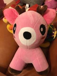 Pink Deer 🦌 粉紅鹿公仔 Ocean Park