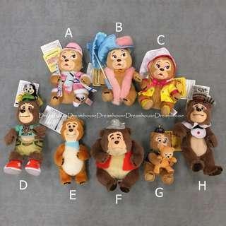 東京迪士尼 鄉村熊 country bear theater 吊飾娃娃