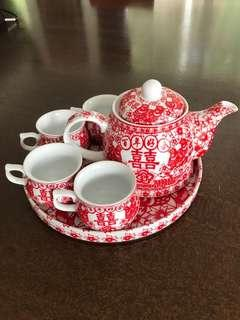 Wedding Teapot set