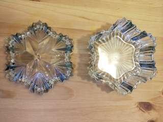 🚚 水晶玻璃糖果盒/置物盒