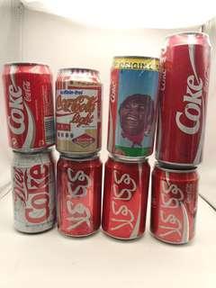 可口可樂特色罐每個15元
