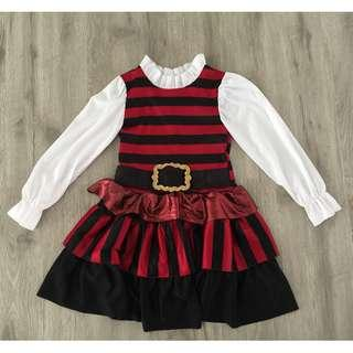 Girl Pirate Dress Costume