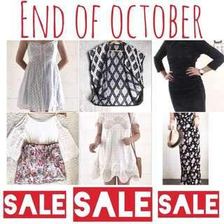 SALE!!! END OF OCTOBER!!!