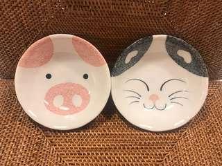 陶瓷小碟 $30/2隻