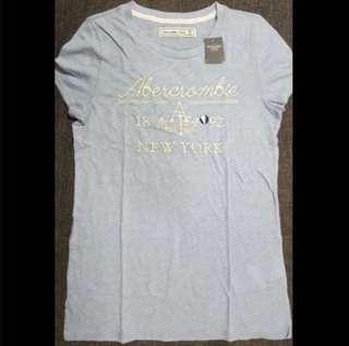 AUTHENTIC NEW LADIES A&F CASUAL TEE (SIZE M ONLY) From USA!!