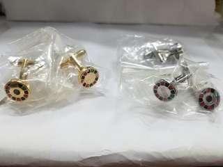 Moschino 俄羅斯輪盤 袖口鈕 金銀兩色