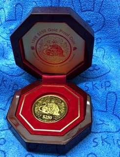 Zodiac Tiger Gold Coin - 999 Gold ❤️