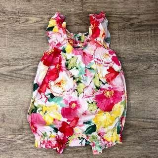 Ralph Lauren floral romper bodysuit
