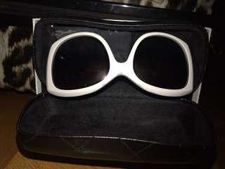 Chanel 黑白色眼鏡