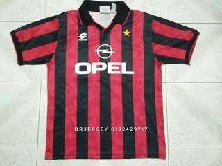 Ac milan vintage jersey 1995