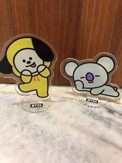 BT21 Chimmy and Koya Standee