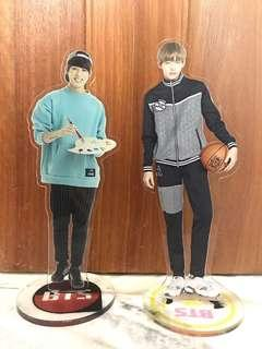BTS V and Jungkook Standee