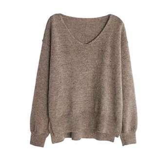 🚚 全新v領毛衣
