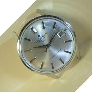 Mint ! Seiko Sportsmatic Calendar 820 Diashock 17-Jewels Automatic Watch......