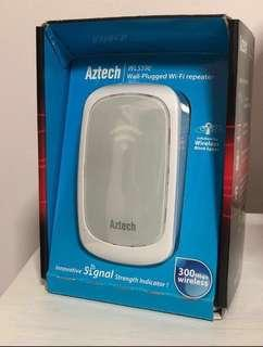 Aztech WL559E wall-plugged Wi-Fi repeater