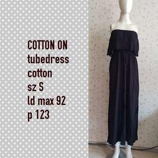 Cotton on dress tube