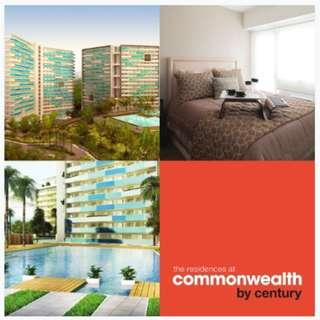 PRE SELLING - 1BR Unit in The Residences at Commonwealth by Century