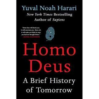 Homo Deus by Yuval Noah Harari (EBook Non-Fiction)