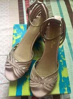 Old Rose Prima Ankle-strap Sandals by Montego Bay from Payless