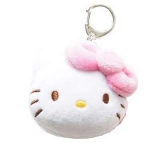 Hello Kitty EZ Link Plush Charm (pink & red)