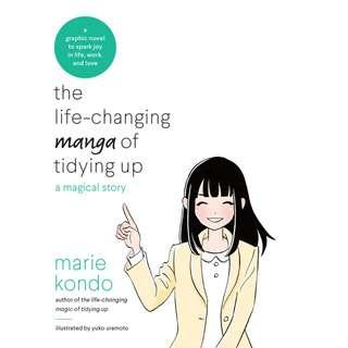 The Life-Changing Manga of Tidying Up by Marie Kondo (EBook Graphic Self-Help)