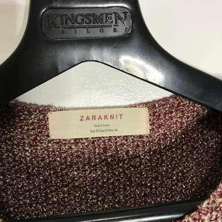 Zara Knitted Zippered Top (can fit semi medium)