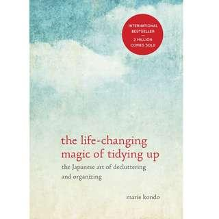 The Life-Changing Magic of Tidying Up by Marie Kondo (EBook Self-Help)