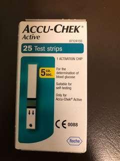 Accu-Check Test Strips (25 strips)