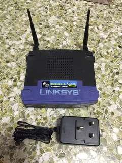 Linksys WRT54G Wireless Broadband Router