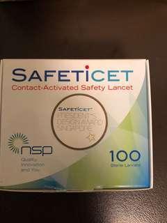 Safeticet (Brand New 100 sterile lancets)