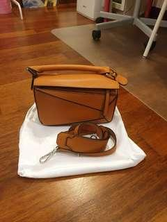Like new Puzzle bag 23cm in tan colour