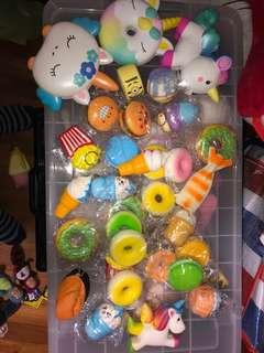 Squishy Toys assorted