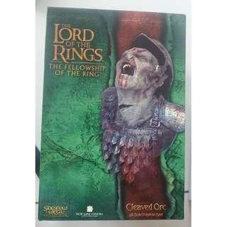 The Lord of the Rings Cleaved Orc Bust (Collectible)