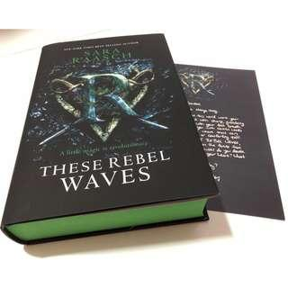 [Signed] These Rebel Waves (FairyLoot Exclusive Edition, w/ author's letter)