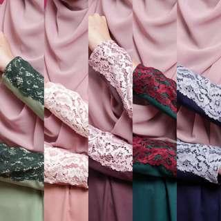 ADELADRESS 2018 jubbah jubah abaya abayah bridesmaid top blouse peplum adeela dresses