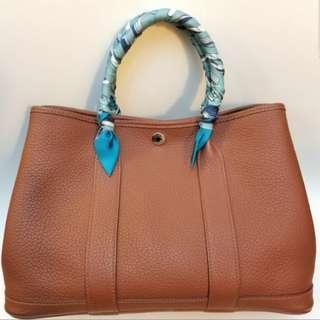 Hermes 30cm garden party bag