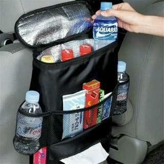 Car Seat Insulated Organizer Bag