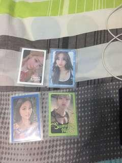 Wts dtna photocards