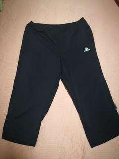 Adidas sports 3/4 pants gym jogging outfit