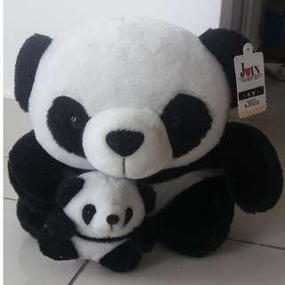 Panda and Baby Soft Toy