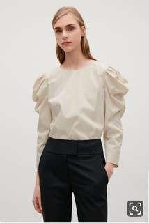 COS 34 Ivory shirt