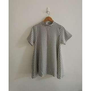A29 -Casual Grid Dress