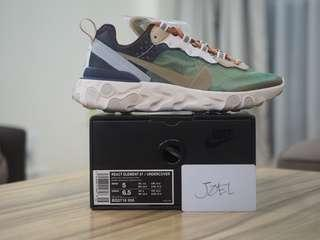 5US Undercover x Nike React Element 87 Green Mist