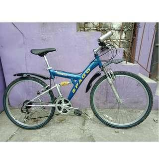 SPAGO DUAL SUS. MT. BIKE (FREE DELIVERY AND NEGOTIABLE!) not folding bike