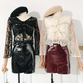 Lovefool Floral Lace Blouse