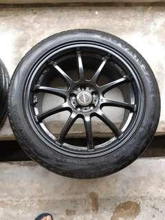 """Prodrive 18"""" inch rims and 235/45/R18 tyres"""