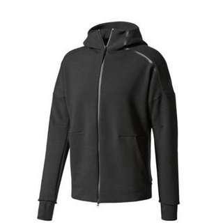 🚚 全新日本正品Adidas zne 2.0黑色m號男生連帽外套