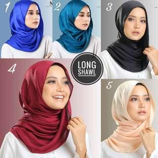 Satin Instant shawl ❤